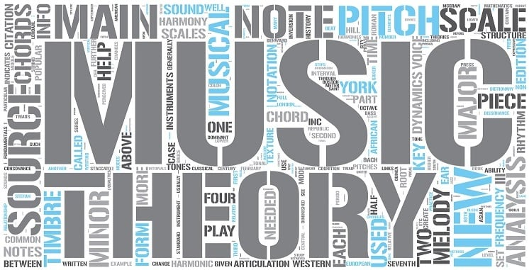 آموزش آنلاین تئوری موسیقی